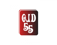 """""""OLD 55"""" - mid-century vintage furniture and wares store Logo - Entry #7"""