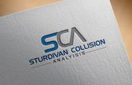 Sturdivan Collision Analyisis.  SCA Logo - Entry #29