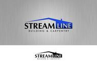 STREAMLINE building & carpentry Logo - Entry #150