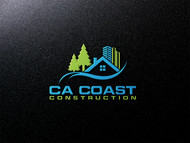 CA Coast Construction Logo - Entry #220