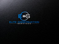 Elite Construction Services or ECS Logo - Entry #322
