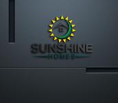Sunshine Homes Logo - Entry #191
