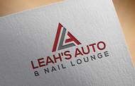 Leah's auto & nail lounge Logo - Entry #87