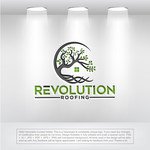 Revolution Roofing Logo - Entry #290