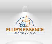 ellie's essence candle co. Logo - Entry #96