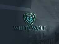 White Wolf Consulting (optional LLC) Logo - Entry #201