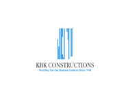 KBK constructions Logo - Entry #141