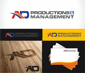 Corporate Logo Design 'AD Productions & Management' - Entry #148
