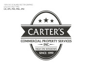 Carter's Commercial Property Services, Inc. Logo - Entry #208