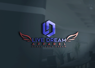LiveDream Apparel Logo - Entry #154