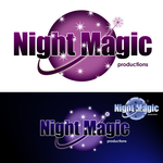 Night Magic Productions Logo - Entry #50