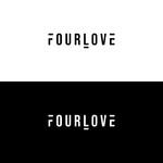 Four love Logo - Entry #254