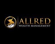 ALLRED WEALTH MANAGEMENT Logo - Entry #889