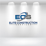 Elite Construction Services or ECS Logo - Entry #126