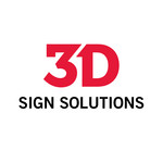 3D Sign Solutions Logo - Entry #126