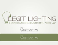 Legit LED or Legit Lighting Logo - Entry #10