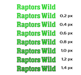 Raptors Wild Logo - Entry #326