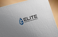 Elite Construction Services or ECS Logo - Entry #110