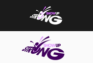 SHOW UP STRONG  Logo - Entry #38