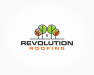 Revolution Roofing Logo - Entry #557
