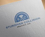 Sturdivan Collision Analyisis.  SCA Logo - Entry #120