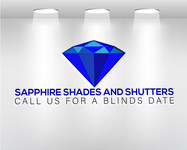 Sapphire Shades and Shutters Logo - Entry #133