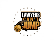 "charity basketball event logo (name with logo is ""lawyers can't jump"") - Entry #15"