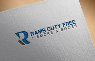 Rams Duty Free + Smoke & Booze Logo - Entry #162