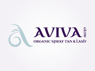 AVIVA Glow - Organic Spray Tan & Lash Logo - Entry #114