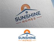 Sunshine Homes Logo - Entry #176