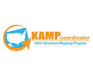 KAMPcoordinator : Kids' Adventure Mapping Program   Logo - Entry #21