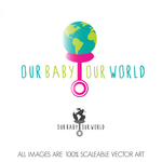 Logo for our Baby product store - Our Baby Our World - Entry #114