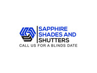 Sapphire Shades and Shutters Logo - Entry #32
