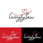 Lovingly Sew Logo - Entry #114