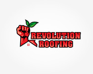 Revolution Roofing Logo - Entry #399
