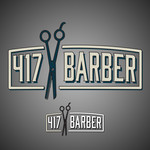 417 Barber Logo - Entry #40