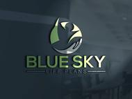 Blue Sky Life Plans Logo - Entry #78