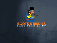 Boots and Birdies Logo - Entry #62