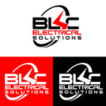 BLC Electrical Solutions Logo - Entry #182