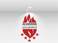 Acadiana Fire Extinguisher Sales and Service Logo - Entry #312