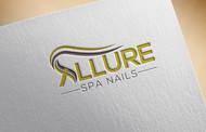 Allure Spa Nails Logo - Entry #88