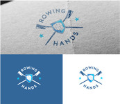 Rowing Hands Logo - Entry #40
