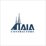 AIA CONTRACTORS Logo - Entry #146
