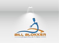 Bill Blokker Spraypainting Logo - Entry #50