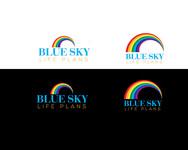 Blue Sky Life Plans Logo - Entry #241