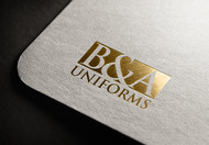 B&A Uniforms Logo - Entry #62