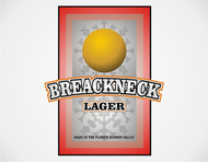 Breakneck Lager Logo - Entry #48