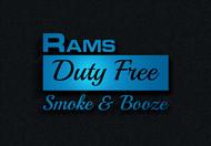 Rams Duty Free + Smoke & Booze Logo - Entry #94