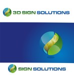 3D Sign Solutions Logo - Entry #25