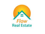 Flow Real Estate Logo - Entry #20